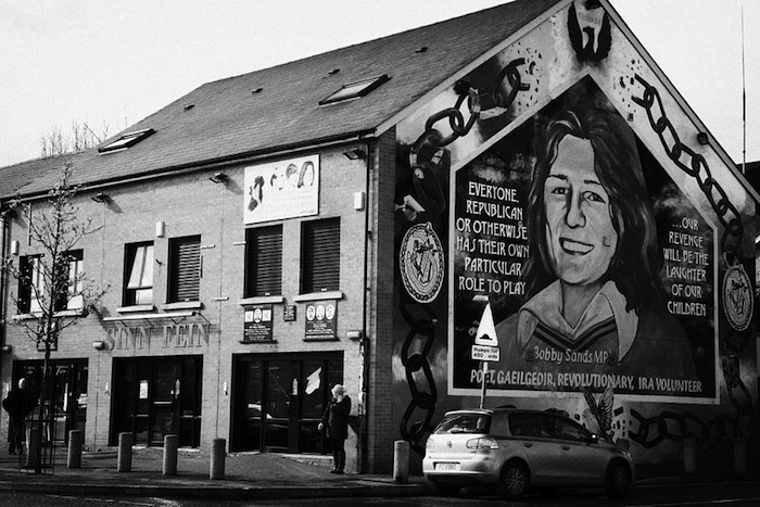 Belfast l eredit dei troubles angelo attanasio for Bobby sands mural belfast